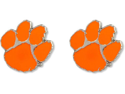 Clemson Tigers Logo Post Earrings