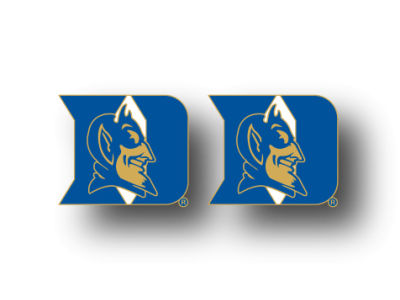 Duke Blue Devils Logo Post Earrings