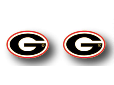 Georgia Bulldogs Logo Post Earrings
