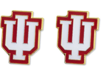 Indiana Hoosiers Logo Post Earrings