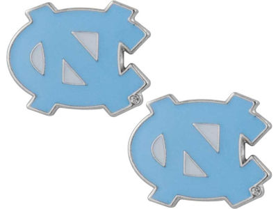 North Carolina Tar Heels Logo Post Earrings