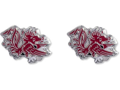 South Carolina Gamecocks Logo Post Earrings