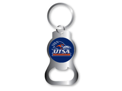 University of Texas San Antonio Roadrunners Aminco Bottle Opener Keychain
