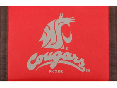 Washington State Cougars Nylon Wallet