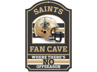 New Orleans Saints 11x17 Wood Sign