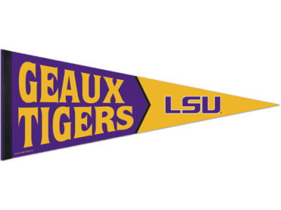 LSU Tigers 12x30in Pennant