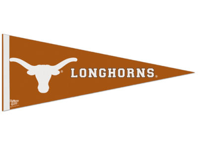 Texas Longhorns Wincraft 12x30in Pennant