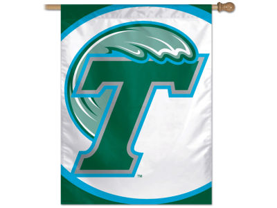 Tulane Green Wave 27X37 Vertical Flag