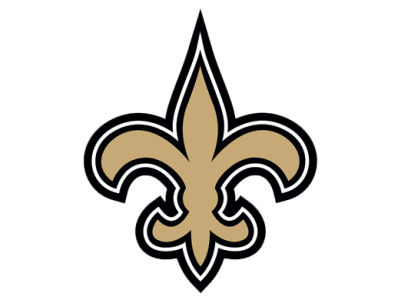 New Orleans Saints Die Cut Color Decal 8in X 8in