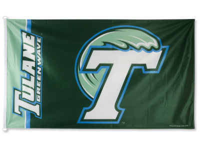 Tulane Green Wave 3x5ft Flag