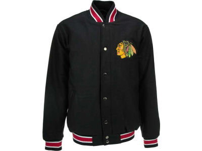 Chicago Blackhawks Mitchell and Ness NHL Wool Jacket