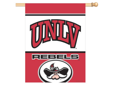 UNLV Runnin Rebels 27X37 Vertical Flag
