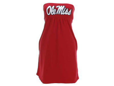 Ole Miss Rebels NCAA Womens Tube Dress With Pockets