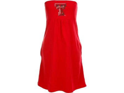 Texas Tech Red Raiders NCAA Womens Tube Dress With Pockets