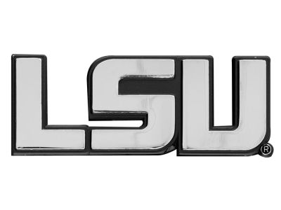 LSU Tigers Stockdale Metal Auto Emblem