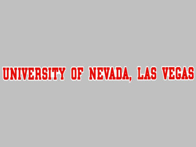 UNLV Runnin Rebels Long Decal