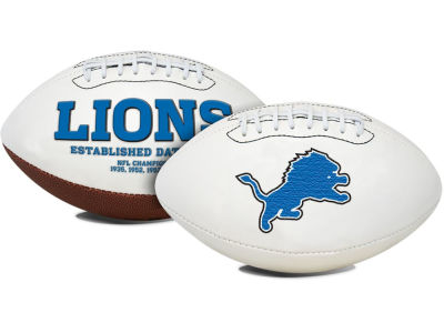 Detroit Lions Signature Series Football