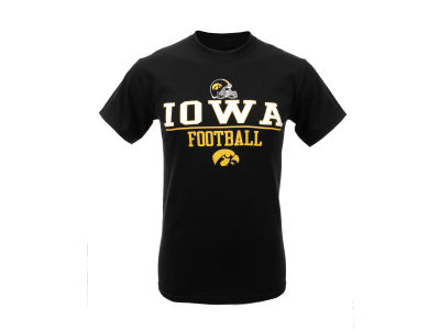 Iowa Hawkeyes Blue 84 NCAA Football Brag T-Shirt