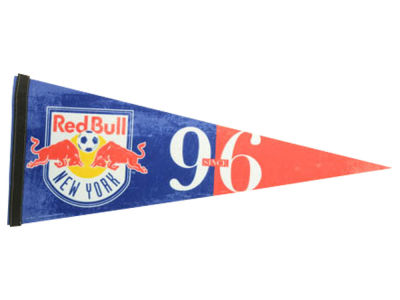 New York Red Bulls 12x30in Pennant