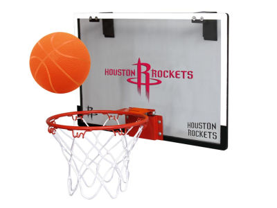 Houston Rockets Game On Polycarb Hoop Set