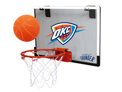 Oklahoma City Thunder Game On Polycarb Hoop Set