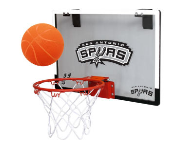 San Antonio Spurs Game On Polycarb Hoop Set