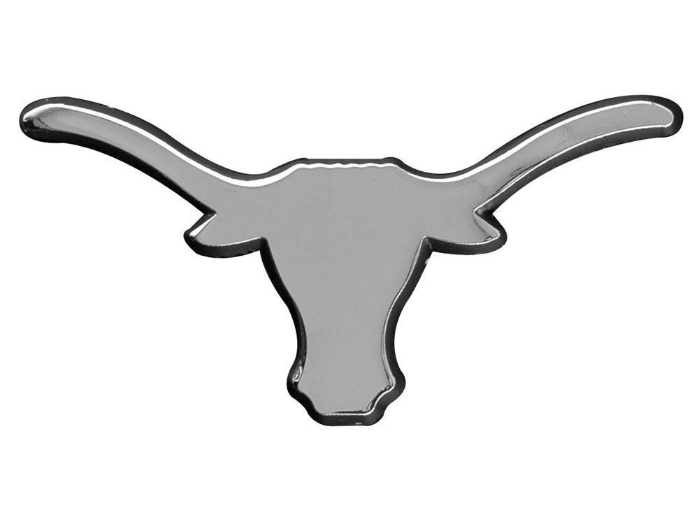 Texas Longhorns Metal Auto Emblem   lids.com