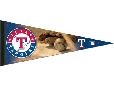 Texas Rangers 12x30in Pennant