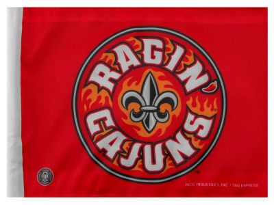 Louisiana Ragin' Cajuns Car Flag