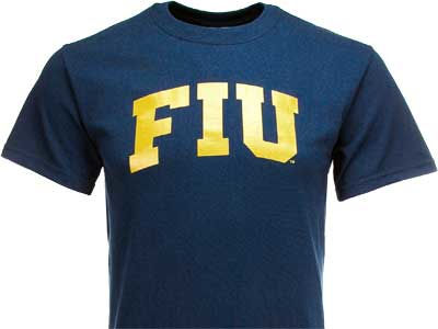Florida International Golden Panthers NCAA 2 for $25  NCAA Vertical Arch T-Shirt