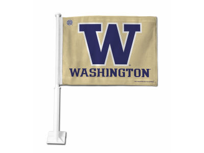 Washington Huskies Car Flag