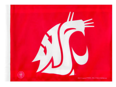 Washington State Cougars Car Flag