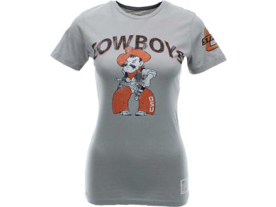 Oklahoma State Cowboys NCAA Womens Dry Cotton T-Shirt II