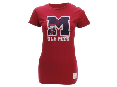 Ole Miss Rebels NCAA Womens DR Solid T-Shirt
