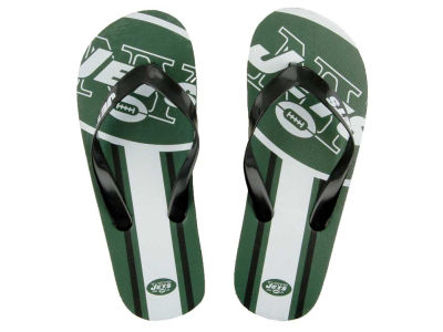 New York Jets Big Logo Flip Flop-NFL