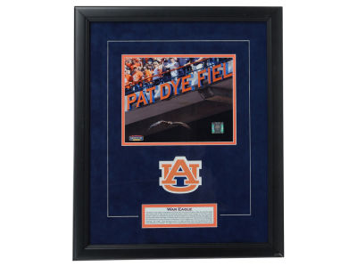 Auburn Tigers Framed Tradition Print Plaque