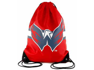 Washington Capitals NHL Team Stripe Drawstring Backpack