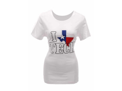 Texas Tech Red Raiders Under Armour NCAA Womens Charged Cotton State Love V-Neck T-Shirt
