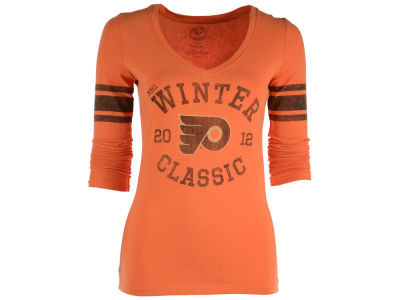 Philadelphia Flyers NHL Women's Winter Classic 2012 Homerun Long Sleeve T-Shirt