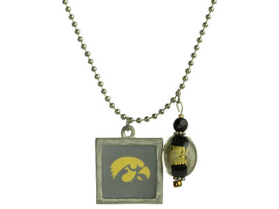 "Iowa Hawkeyes 24"" Single Window Necklace"