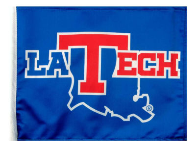 Louisiana Tech Bulldogs Car Flag