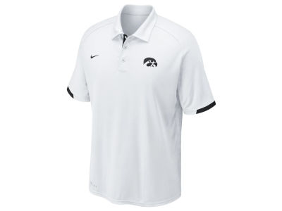 Iowa Hawkeyes Nike NCAA Men's Football Training Polo Shirt