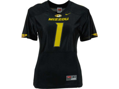 Missouri Tigers #1 Nike NCAA Womens Football Replica Jersey