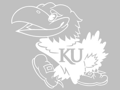Kansas Jayhawks 3x5 Decal