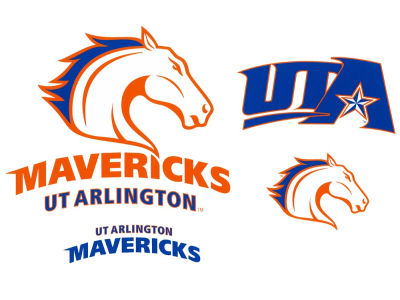 University of Texas Arlington Mavericks 12x12 Multipack Magnet