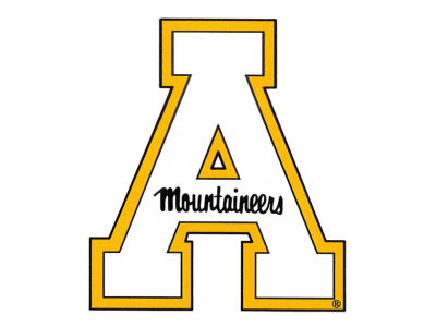 Appalachian State Mountaineers 4x4 Magnet