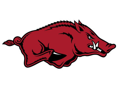 Arkansas Razorbacks 4x4 Magnet