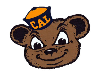 California Golden Bears 4x4 Magnet