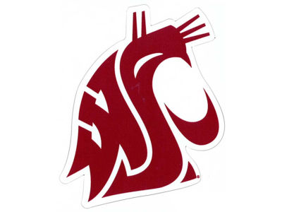 Washington State Cougars 4x4 Magnet