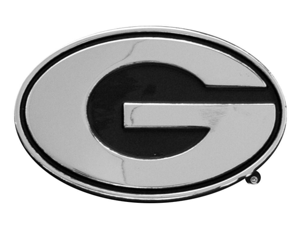 Georgia Bulldogs Metal Auto Emblem Lids
